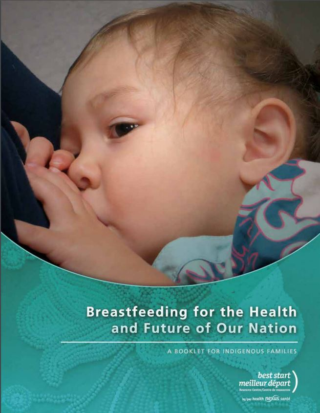 Cover picture of booklet Breastfeeding for the Health and Future of our Nation