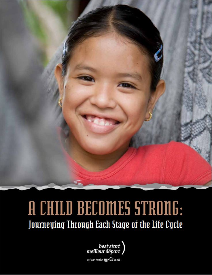 Cover picture for resource K12-A A Child Becomes Strong.